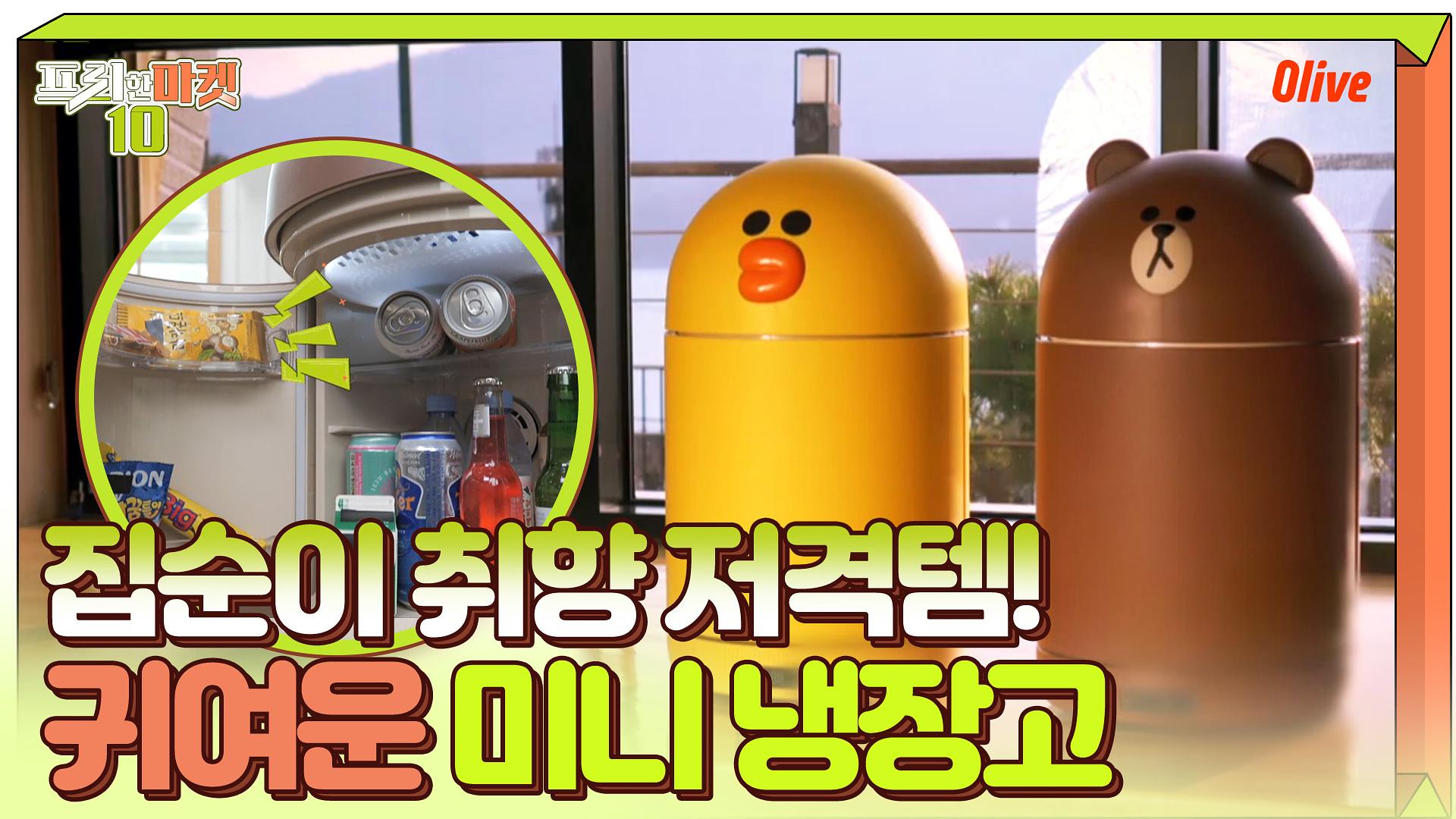 SNS 난리난 아이템! 이 귀여운 외모에 기능까지!! #냉장고